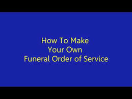 How To Make A Funeral Program How To Make Funeral Program In Microsoft Word Youtube