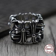 <b>S925 Pure Silver</b> Men'S Ring Individuality <b>Restoring</b> Ancient Ways ...