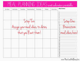 online meal calendar showing post media for meal calendar ideas www ideastag com