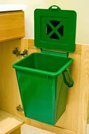 small kitchen compost bin beautiful 2 4 gallon post under sink mounted best charcoal filter postmodern starter kit und