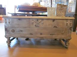 coffee tables ideas trunks for trunk end creative silver artistic untreated wooden finishing carved legs storage