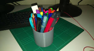 Cool Pen Holders Superb Simple Pen Holder By Hersheljr Thingiverse