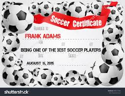 Free Soccer Certificate Templates Football Award Templates Free Printable Best Award Free