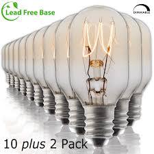 Night Light Wax Warmer Bulbs Salt Rock Lamp Bulb 10 Pack 2 Free 15 Watt Replacement Bulbs For Himalayan Salt Lamps Baskets Scentsy Plug In Wax Warmers Night Lights