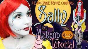 sally nightmare before makeup tutorial 2016 you