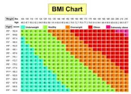 Woman 2016 Bmi Chart April 2016 Yings Fitness