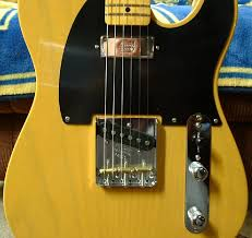 the fender vintage 52 hot rod tele th z talk one other thing i like about my tele is how well the strings line up dead center over the pickups