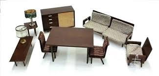 modern miniature furniture. Mid Century Modern Dollhouse Design In Miniature Furniture Ideas View Gallery .