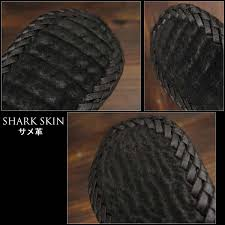 shark leather is world known for its rough course texture shark skin is an amazingly durable skin with a unique fine grain texture filled with natural