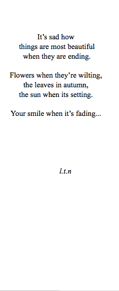 sad poems about love tumblr