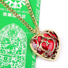 legend of zelda skyward sword heart conner necklace in box collectibles