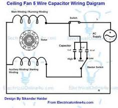 2 switch ceiling fan wiring diagram images ac 552 ceiling fan ceiling fan capacitor wiring connection diagram