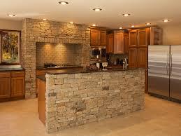 stone veneer kitchen backsplash. Rless Stone Faced Kitchen Island With Natural Subway For Backsplash Also Black Granite Veneer 3