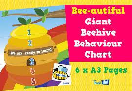 Bee Behaviour Chart Giant Bee Hive Classroom Behaviour Display Chart Teacher