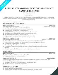Sample Resume For Administrative Assistant – Markedwardsteen.com