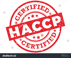 Haccp Certified Rubber Stamp Hazard Analysis Stock Vector 644814391