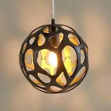 hanging orb light pendant lamp outdoor string glass orbs ball solar globe pend