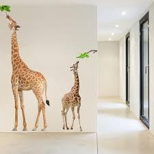 Giraffe Wall Decals Wall Decal | Animals U0026 Nature
