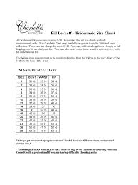 Bill Levkoff Size Chart 2019 Bill Levkoff Size Chart Fillable Printable Pdf