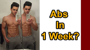 How To Get Abs In 1 Week For Teenagers At Home Fast Six Pack Abs