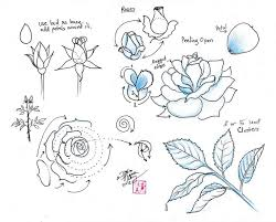 Small Picture Best 25 Easy rose drawing ideas on Pinterest Easy to draw rose