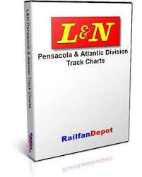 Details About L N Pensacola Atlantic Division Track Chart 1964 Pdf On Cd Railfandepot