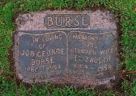 "George ""Job"" Burse (1868-1953) - Find A Grave Memorial"