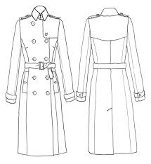 Trench Coat Pattern Interesting Cutting And Collars Trench Sew Along