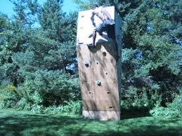 climbing backyard rock wall you