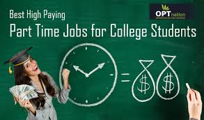 Part Time Jobs For High Schoolers Best High Paying Part Time Jobs For College Students And Its