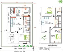 ft 200 sq yards duplex plan west facing joy studio design for duplex house plans for 2000