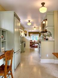 Kitchen Track Lighting Galley Kitchen Track Lighting Over Small With Floor To Ceiling