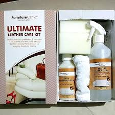 new furniture clinic ultimate leather care kit 35 off furniture on carou