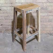 reclaimed wood bar stools uk stool