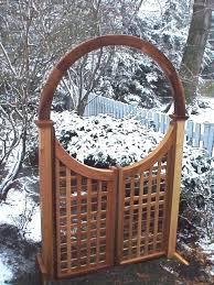 garden arch with gate single halo arbor garden arch gate garden arch with gate