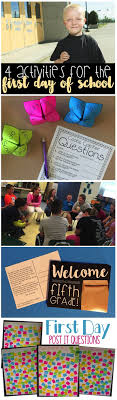 best ideas about first day activities high four activities for the first day of school