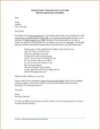 Fundraising Thank You Letter Templates 10 Donation Thank You Letters Templates Lycee St Louis