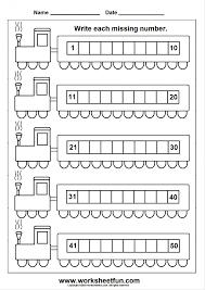 Math Worksheets Number For Kindergarten One More 5bw Printable ...