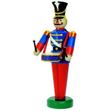 Giant Fiberglass Toy Soldier with Drum