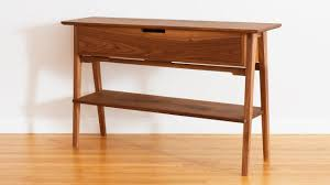 hall table furniture. Build A Mid Century Modern Hall Table Furniture