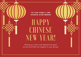 Chinese new year greeting card. Customize 50 Chinese New Year Cards Templates Online Canva
