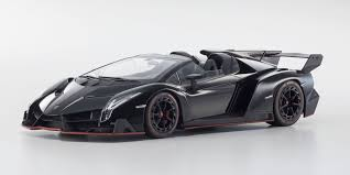 lamborghini veneno black and orange. ousia 118scale lamborghini veneno roadster black red and orange