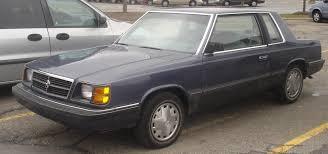 Dodge Aries Coupe - Partsopen