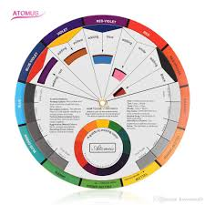 Pocket Size Color Wheel Paper Card Paint Mix Learning Guide Artist Chart Wheel Paint Mix Learning Guide Artist Chart Wheel