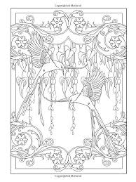 Small Picture Art Adult Coloring Books Art Nouveau Coloring Pages Coloring Pages