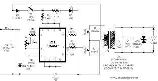 inverter 12v dc to 240v dc schematic design 100 watt inverter 12vdc to 220vac mosfet