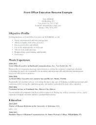 Resume For Front Office. Front Desk Jobs Resume Sample ...