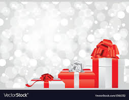 Gifts Background White Christmas Background Gifts