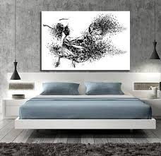 CANVAS ART Sensual Bedroom Wall Decor Minimalist Bedroom
