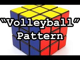 Rubik's Cube Patterns 3x3 Best Rubik's Cube 48x48x48 Pattern Volleyball YouTube